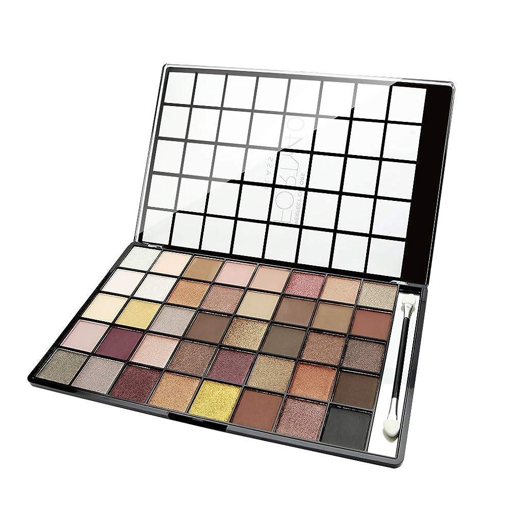一回奇跡バーゲン(3 Pack) NICKA K Perfect 40 Classic Eyeshadow Palette (並行輸入品)
