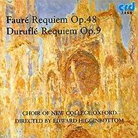Faure: Requiem Op. 48 / Durufle: Requiem Op. 9 by DURUFLE / FAURE (2007-02-12)