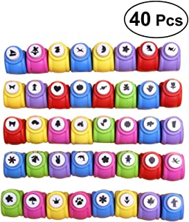 ultnice 40pcs Craft Paper Punch recortes Card Hole Puncher