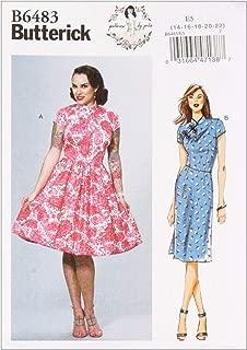 Best mandarin collar dress pattern Reviews