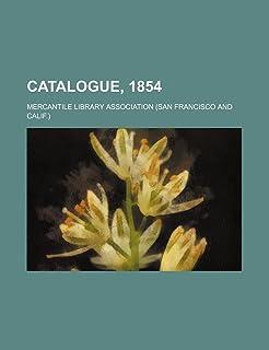 Catalogue, 1854
