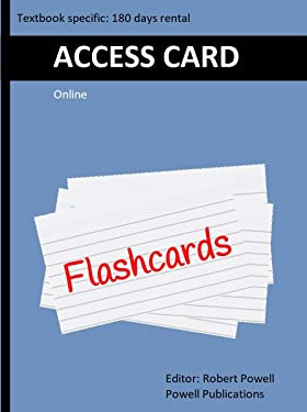 Access Card for Online Flash Cards, Node.js, MongoDB and Angular Web Development ...