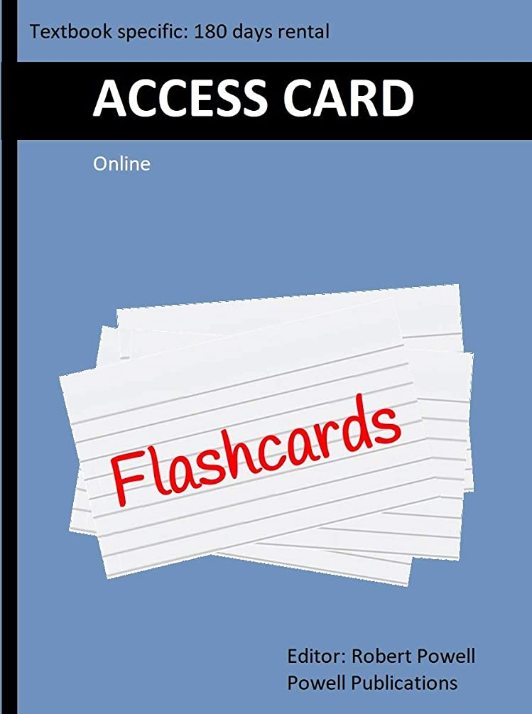 Access Card for Online Flash Cards, to accompany The AVR Microcontroller and Embedded Systems Using Assembly and C