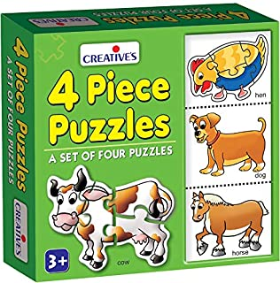 Creative Educational 4 Piece Puzzles