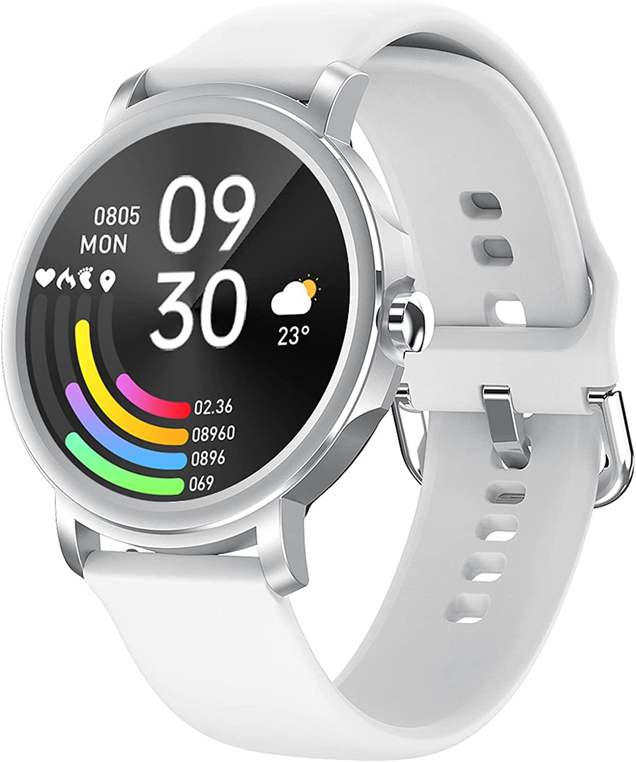 QFSLR Smart Time sale Watch Waterproof Smartwatch Full Fitness Screen Product Ouch