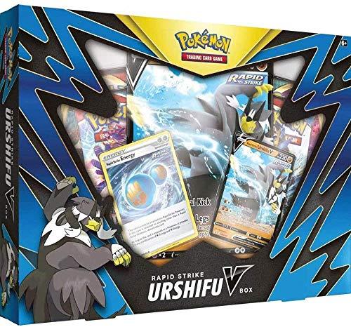 Pokémon TCG:Single/Rapid Strike Urshifu V Box