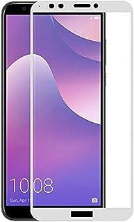 TBOC skärmskydd för Huawei Y7 [2018] - Y7 Prime [2018] - Honor 7C - 5D härdat glas, Vitt