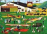 Buffalo Games - Charles Wysocki - Four Aces Flying School - 1000 Piece Jigsaw Puzzle