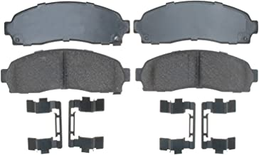 ACDelco 17D913CH Professional Ceramic Front Disc Brake Pad Set