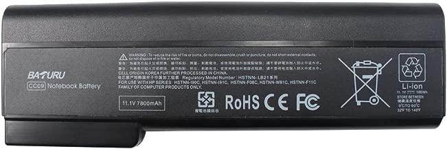 Baturu 9-Cell Laptop Battery for HP Elitebook 8460p 8460w 8560p 8570p ProBook 6360b 6460b 6560b 6570b, fit cc06 cc06xl cc09 628666-001 628668-001 628670-001 - 12 Months Warranty