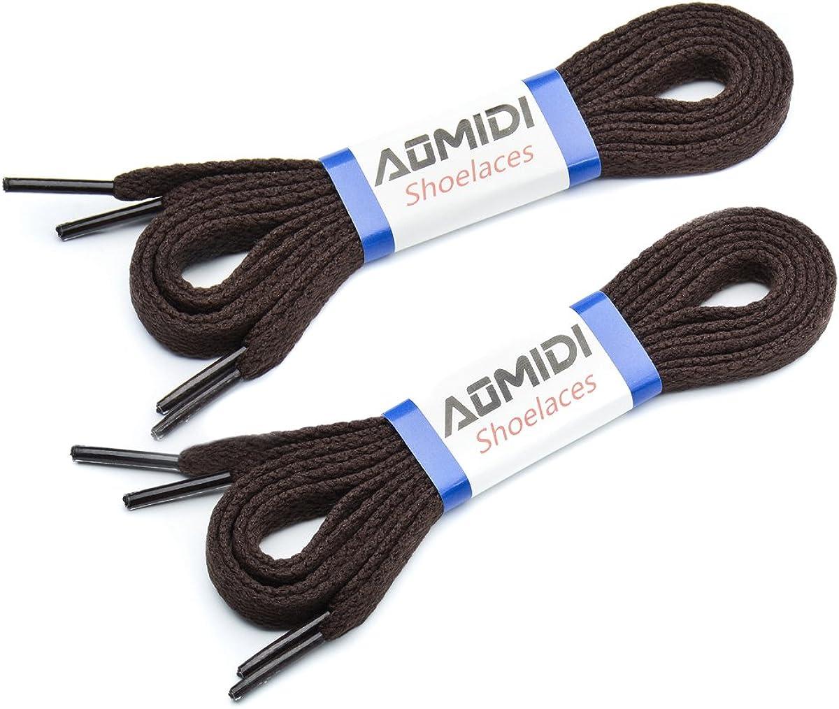 AOMIDI Flat Shoelaces 5 16