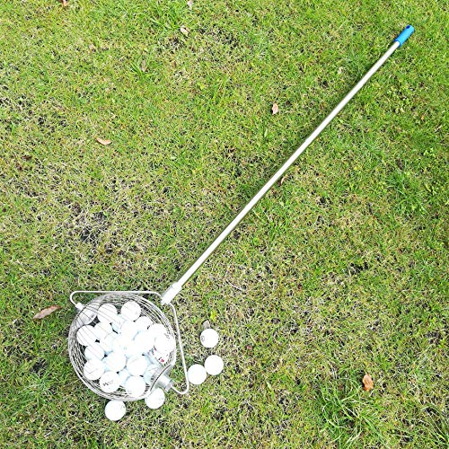 HCW 304#Golf Ball Collector, pingpongBall Collector,Walnuts Pecans Gatherer,Medium Nut Gatherer
