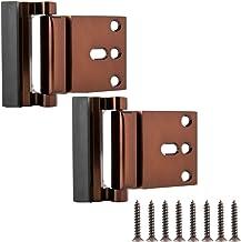 AmazonBasics deur-reinigingslot. Deurvergrendeling. 2er-Pack Bronskleuren met olieslijping.