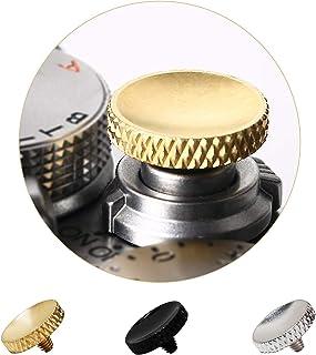 Soft Shutter Release Button, High-end Pure Copper Camera Shutter Button (3 Pack)