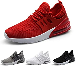 Kinghealth Men Running Shoes Casual Sneakers Lightweght Trainers for Gym and Sports