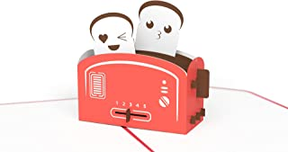 Lovepop Love Toaster Pop Up Card, 3D Card, Love Card, Valentine's Day Card, Romance Card, Cute Card