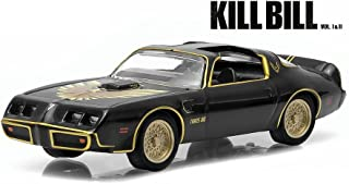 1979 PONTIAC FIREBIRD TRANS AM from the classic film KILL BILL Greenlight Collectibles 1:64 Scale * GL Hollywood Series 10 * Die Cast Vehicle
