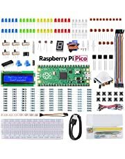 SunFounder Raspberry Pi Pico キット,オンラインマニュアル、プログラミング&電子工作のワンストップ学習、ラズパイピコ初心者向け工作キット