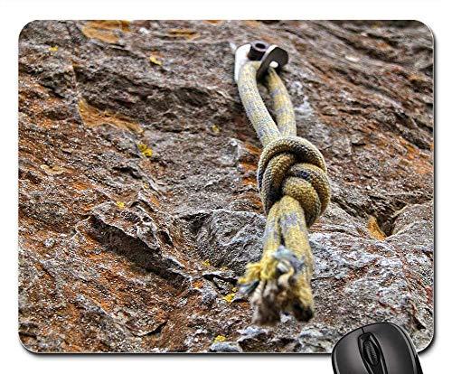 Mouse Pad - Knot Climbing Climb Yellow Rock Tight Trust