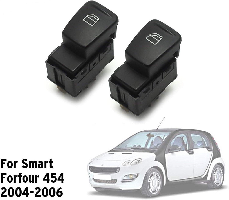 GuOdong Avant Gauche Avant Droite Fen/être Commutateur Fit for Smart Forfour 454 2004-2006 A4548201010 Hatchback Puissance Color : 1pc