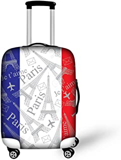 CHAQLIN 3D Elastic Luggage Cover World Design for 18/20/22/24/