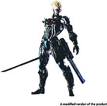 Huangyingui Raiden Metal Gear Rising: Revengeance Play Arts -Kai Action Figure - High 11 Inches