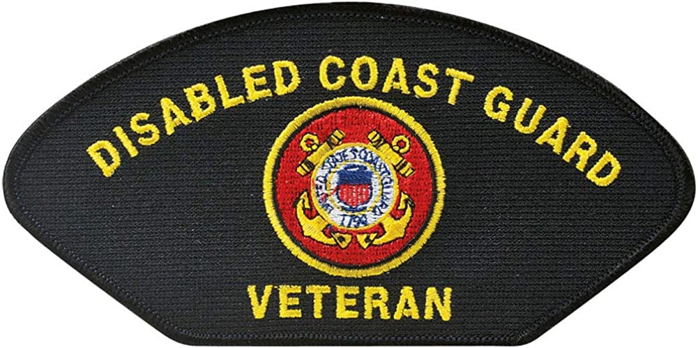 USCG Max 81% OFF Disabled Veteran Patch Hat Max 44% OFF