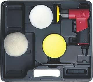 3 Inch Pad Diameter, 2,500 RPM, 0.25 Hp, Handheld Air Polisher