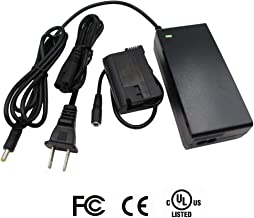 TKDY EP-5B EH-5 Plus AC Power Adapter Supply Kit (NIKON EN-EL15 Battery Charger Replacement ) For NIKON D500, D600, D610, D750, D7000, D7100, D800, D800E, D810, D800A, 1V1 Cameras.