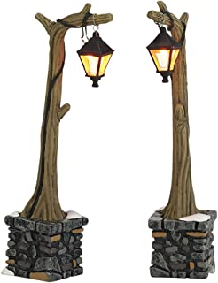 Department 56 Accessories for Villages Woodland Lampposts, 5.12 inch (Set of 2)