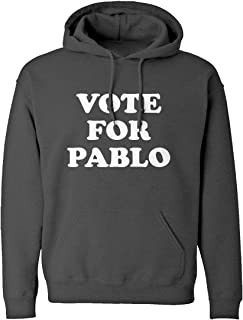 Indica Plateau Vote for Pablo Unisex Adult Hoodie