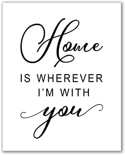 Best with you i'm home print Reviews