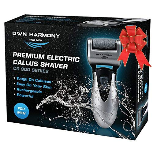 Electric Hard Skin Remover for Men by Own Harmony: USA's Best Rated Callus...