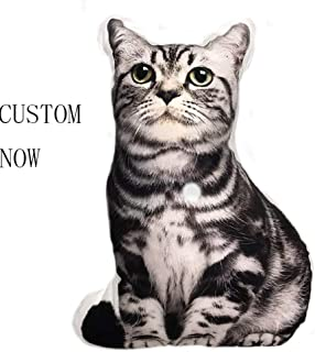 repin Personalized Photo Pillow Single-Sided/Duplex DIY cat and Dog Shaped Pillow Birthday(12''X12''(30cmX30cm))