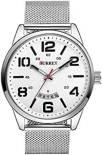カレンウォッチメンズトップブランドの高級ステンレス鋼クォーツ時計スポーツメンズ腕時計防水リフィオマス
