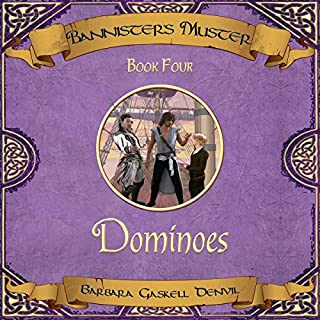 Dominoes audiobook cover art