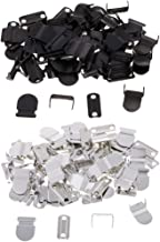 Prettyia 40 Sets No-Sew Hook & Eye Closure Fastener for Trousers Skirt Suits Decoration