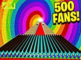 Clip: 500 Fans vs World's Biggest Rainbow Dropper!