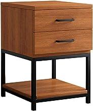 Bestandskasten nachtkastje nachtkastje met laden Eenvoudige moderne nachtkastje slaapkamer opberglade houten bijzettafel (...