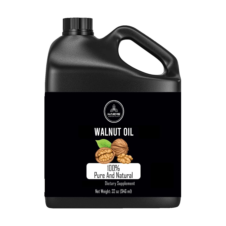 Naturevibe Botanicals Walnut Oil High quality depot 32oz