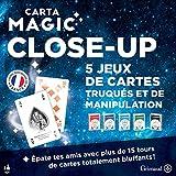 Grimaud Coffret de 5 Jeux de Magie Close-Up, 410200,