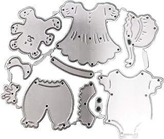 RIsxffp Matrices de découpe en métal pour scrapbooking/cartes Design vêtements pour bébé 2#