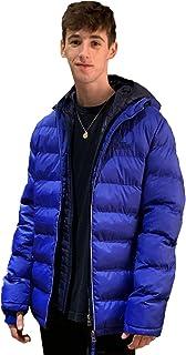 Tokyo Laundry Mens Habeck Hooded Jacket - Sapphire - Size - Large