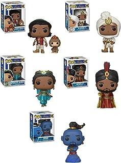 Funko Pop! Disney: Aladdin Live Action Collectible Vinyl Figures, 3.75
