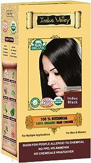Indus Valley 100% Herbal Hair Dyes (Indus Natural Black)