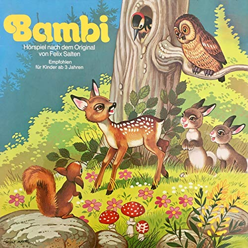 Bambi  By  cover art