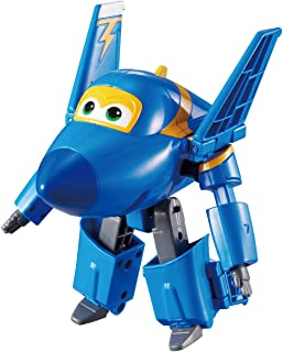 "Super Wings - Transforming Jerome Toy Figure | Plane | Bot | 5"" Scale"
