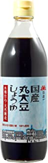 岡直三郎商店 日本一 国産丸大豆しょうゆビン 500ml
