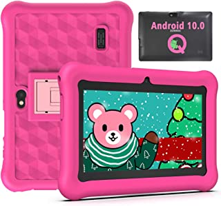 Tablet para Niños 7 Pulgadas Android 10.0 Google Certified Playstore, 2GB RAM 32GB ROM Ampliable hasta 128GB, Tablet de Ni...