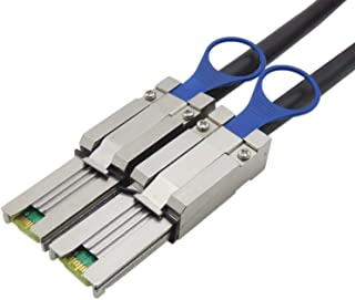 CABLEDECONN Mini SAS26P SFF-8088 to SFF-8088 1M External Cable Attached SCSI